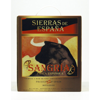 SANGRIA SIERR.ESP. BAG-IN BOX, 3 LT 11º