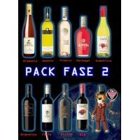 PACK FASE 2-9 VINOS DEL MUNDO 0.75L.