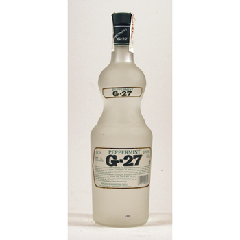 LICOR PIPPERMINT G-27 BLANC SALAS 1L.