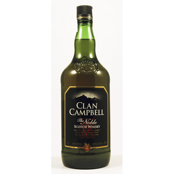 WHISKY CLAN CAMPBELL 2L.