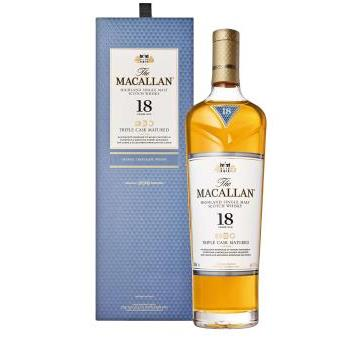 WHISKY MACALLAN SHERRY OAK 18A+EST 0.75L.