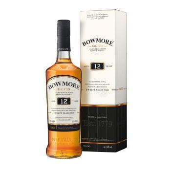 WHISKY BOWMORE 12 YEARS S MALT 0.7L.