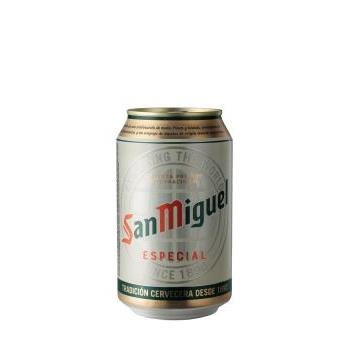 SAN MIGUEL LATA 0.33L.