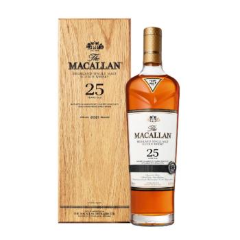 WHISKY MACALLAN 25A+EST 0.7L.