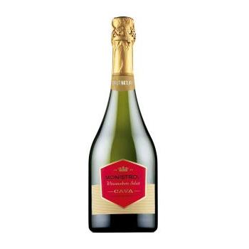 CAVA MARQUES MONISTROL BRUT NATURE 0.75CL