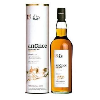 WHISKY ANCNOC 12 ANYS 0.7L.