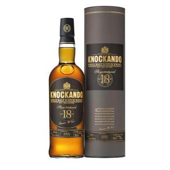 WHISKY KNOCKANDO SLOW MADURED 18YO 0.7L.