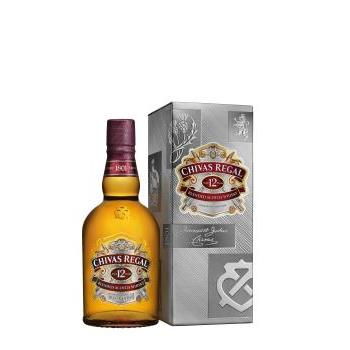 WHISKY CHIVAS REGAL PETACA 0.5L.