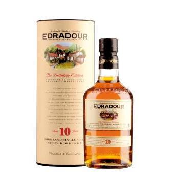 WHISKY EDRADOUR 10 YO 0.7L.