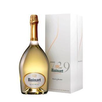 RUINART BLANC DE BLANCS + EST 0.75L.