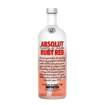ABSOLUT RUBY RED(POMELO) 1L.