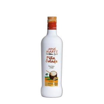 LICOR COCKTAIL PIÑA COLADA JOSE MART 0.7L.