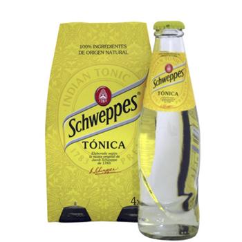 TONICA SCHWEPPES P/4 0.25L.