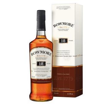 WHISKY MALTA BOWMORE 18YO ISLAY S.MALT 70CL