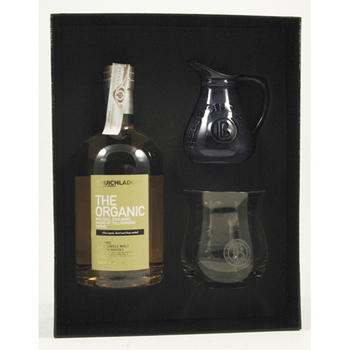 WHISKY BRUICHLADDICH THE ORGANIC+KIT 0.5L.