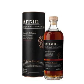 WHISKY ARRAN PORT CASK FINISH 0.7L.