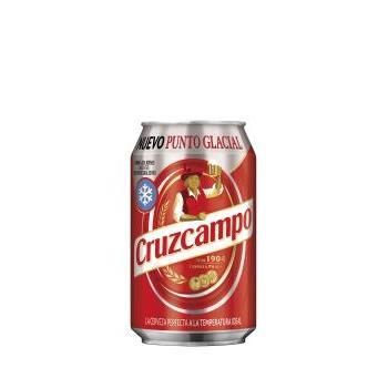 CRUZCAMPO LLAUNA 0.33L.
