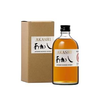 WHISKY AKASHI BLENDED 0.5L.