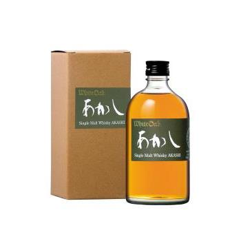 WHISKY AKASHI SINGLE MALT 0.5L.