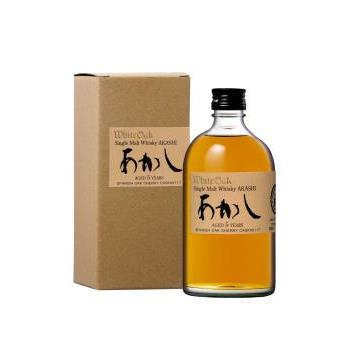 WHISKY AKASHI SINGLE MALT 5 YO 0.5L.