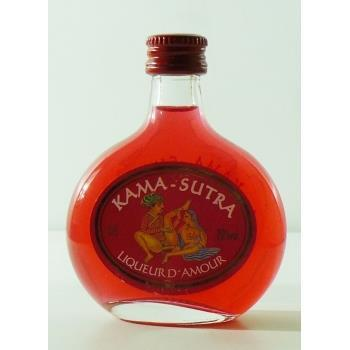MINI LICOR KAMASUTRA ROJO 0.005L.