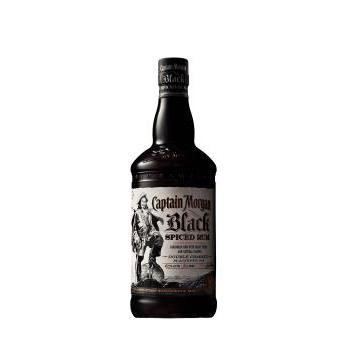 RON CAPITAN MORGAN BLACK SPICED 1L.