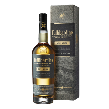 WHISKY TULLIBARDINE SOVEREIGN 0.7L.