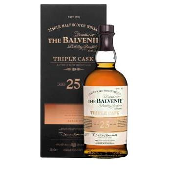BALVENIE 25 ANYS 0.7L.