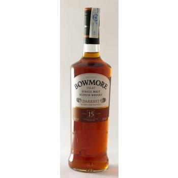 WHISKY MALTA BOWMORE 15 YEARS 0.70CL 40º