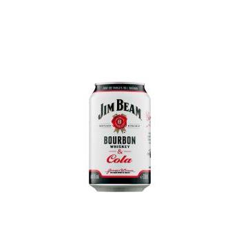 JIM BEAM COLA 0.33L.