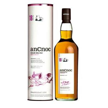 WHISKY ANCNOC 18 ANYS 0.7L.