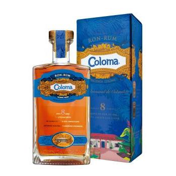 RON COLOMA 8 AÑOS 40º0.70CL-CO 0.7L.