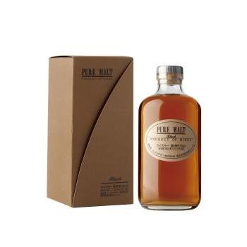 W JAPAN NIKKA BLACK 43º 0.50CL 0.7L.