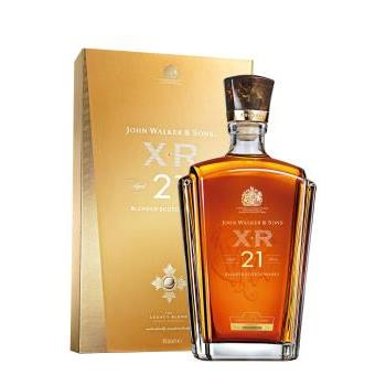 W JOHNIE WALKER XR 21 YO 40º L 1L.