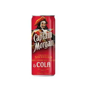 COCKTAIL CAPITAN MORGAN 0.25L.