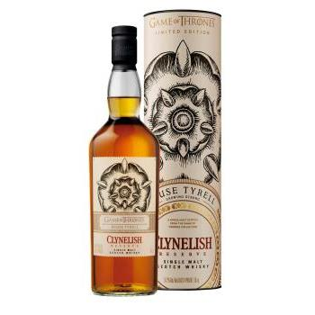 WHISKY CLYNELISH  - GAME OF THRONES 0.7L.