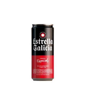 CERVEZA ESTRELLA GALICIA LAL 0.33L.