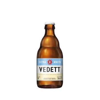 CERVEZA VEDETT EXTRA WHITE 33C 0.33L.