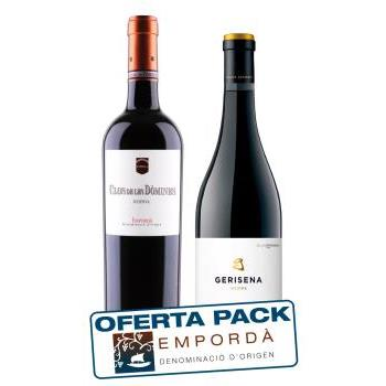 EMPORDA CLOS DOMINAS+GERISENA 0.75L.