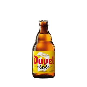 CERVEZA DUVEL 6.66 33CL/BELGIC 0.33L.