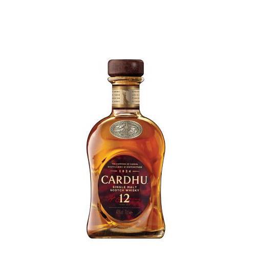 CARDHU 12 A 0.7L.