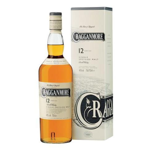 WHISKY CRAGGANMORE 12 YEARS+EST. 0.7L.