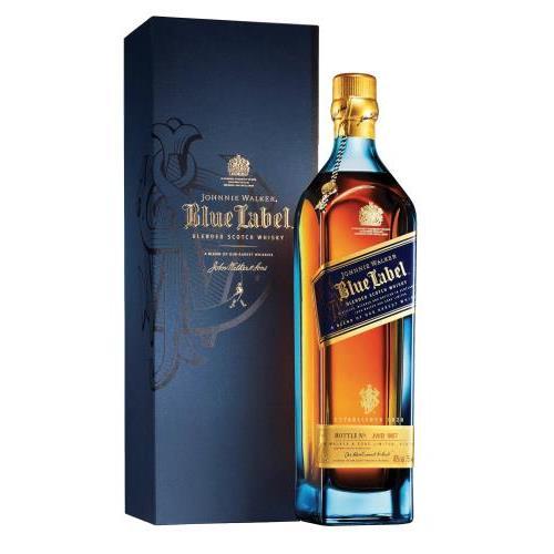 WHISKY JOHNNIE WALKER BLUE LABEL+EST. 0.7L.