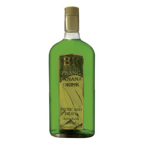 LICOR PISANG BR BANANA DRINK 1L.