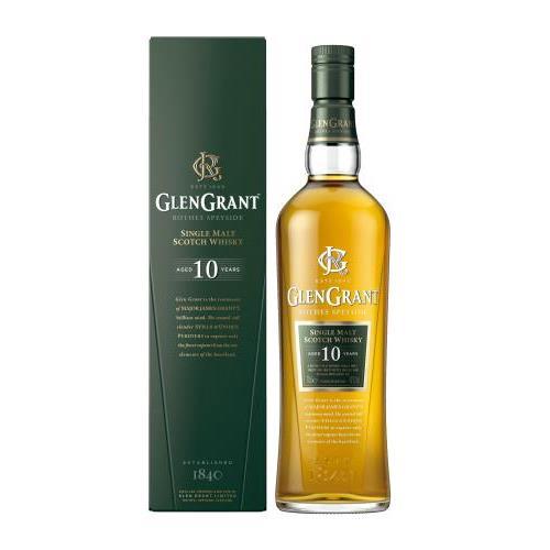 WHISKY GLEN GRANT 10 ANYS+EST 0.7L.