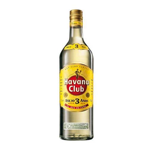 HAVANA CLUB 3 ANYS T/IRR - CUB 1L.