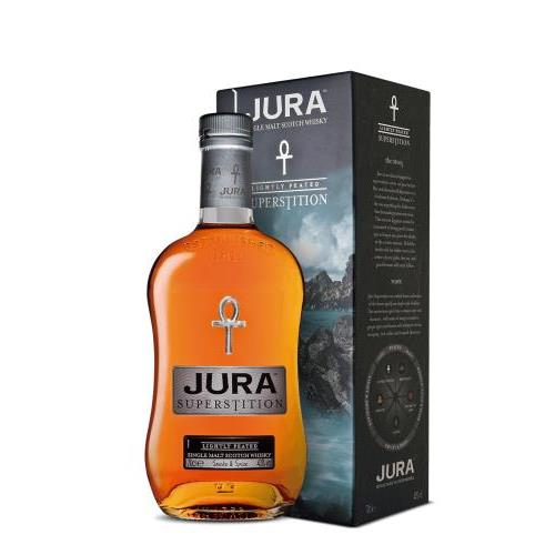 WHISKY ISLE OF JURA SUPERSTITION 1L.