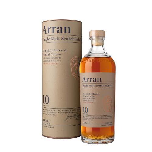 WHISKY ARRAN 10 YO 0.7L.