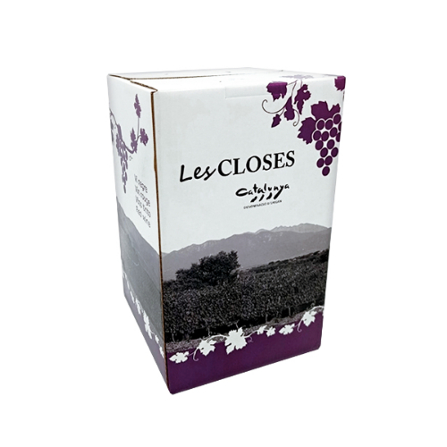 V TINTO CATALUNYA LES CLOSES BAG IN BOX 5L 13.5º
