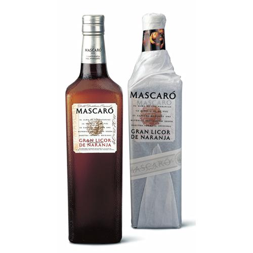 LICOR DE NARANJA MASCARO 0.7L.